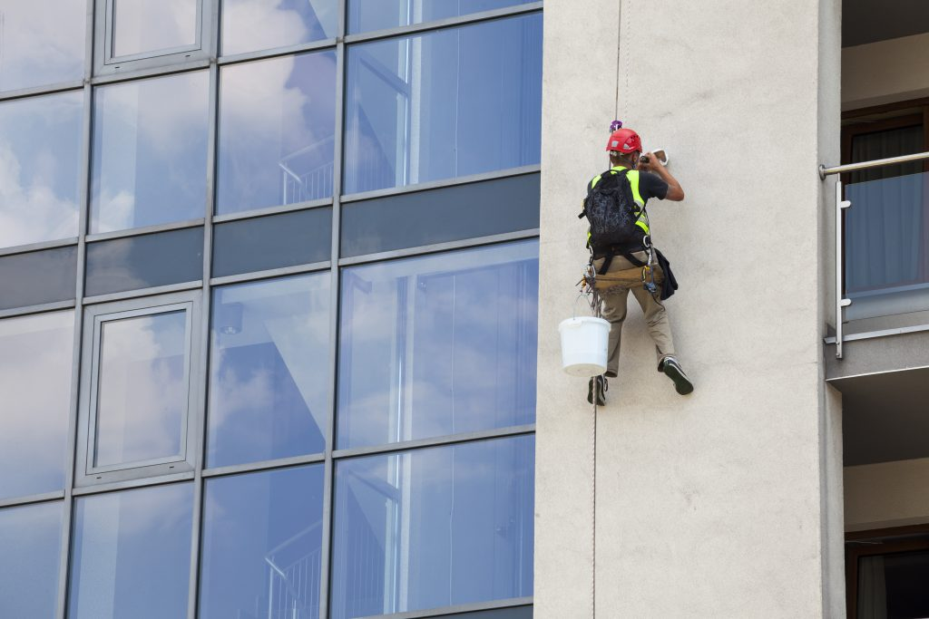 Abseiling and Rope Access Window Cleaning Services in Halifax