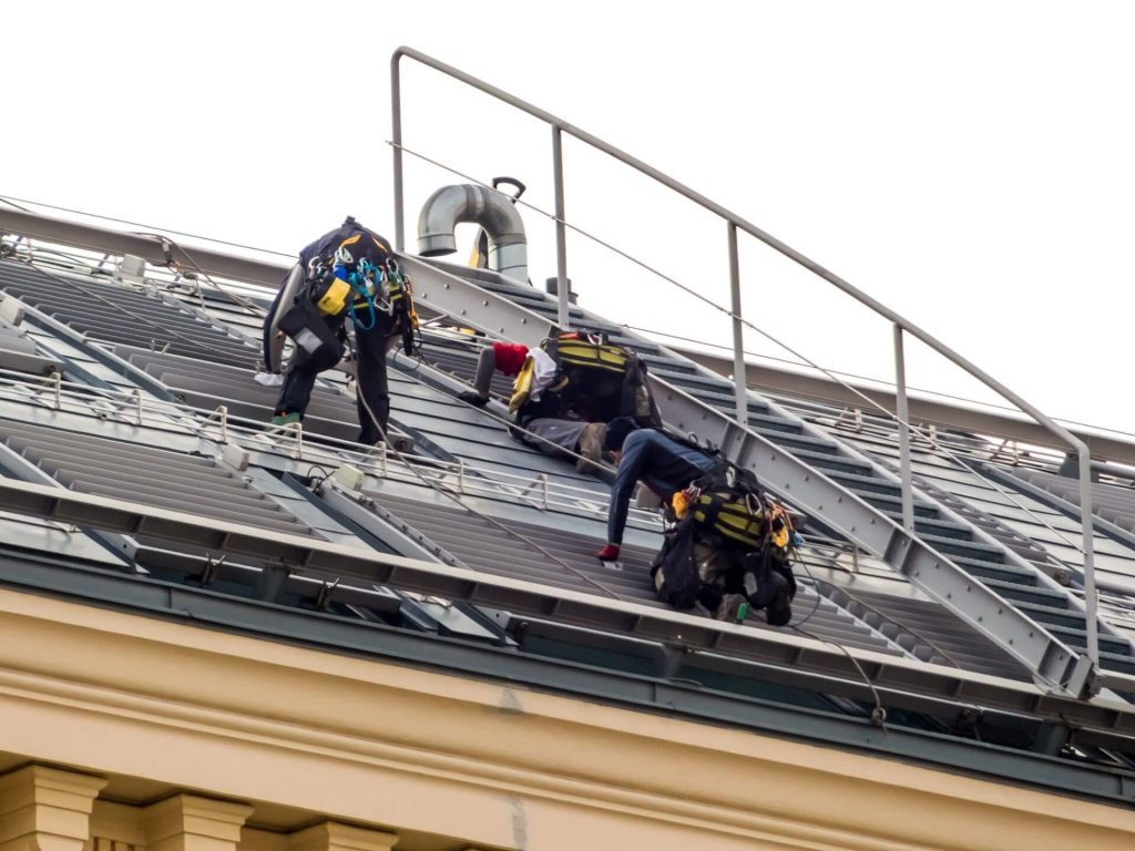 Why is roof maintenance important on commercial buildings?
